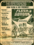 WEISS DORAVILLE MINI CINEMA ad for FLESH GORDON