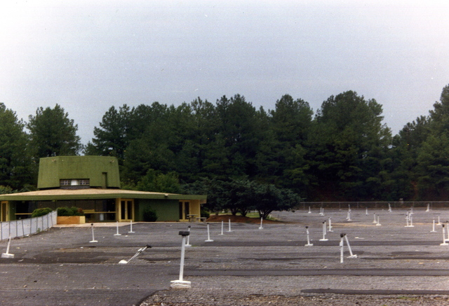 NORTH 85 DRIVE IN THEATRE concession stand
