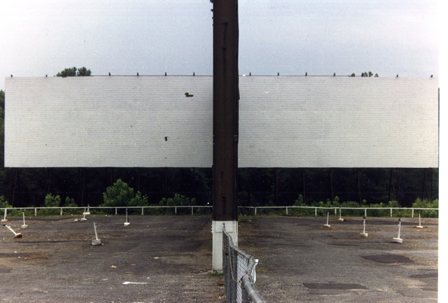 NORTH 85 DRIVE IN THEATRE  view of TWIN screens