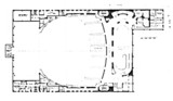 Radio City Music Hall, New york - Upper Level Floor Plan