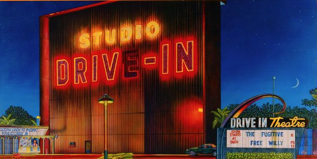 STUDIO DRIVE IN THEATRE in Culver City entrance