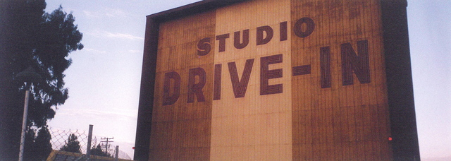 STUDIO DRIVE IN THEATRE in Culver City in daytime 