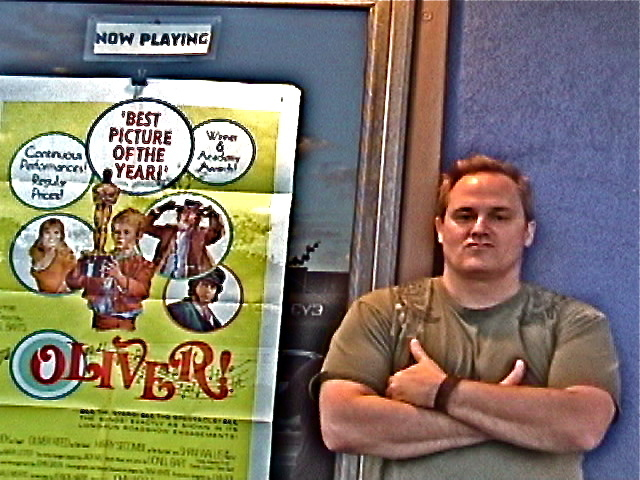 At a revival of OLIVER! at the Beverly Theatre
