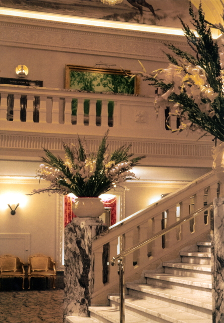 Foyer and Grand Staircase.