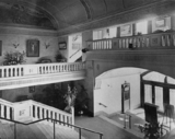Entrance Lobby, Grand staircase, Western gallery and Dress Circle Foyer.