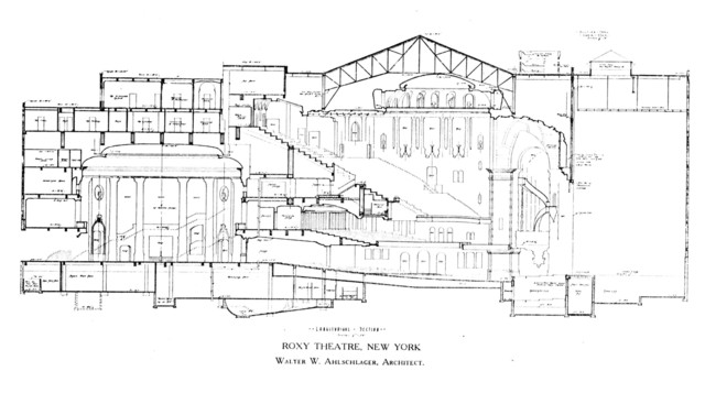 theater seating diagram section