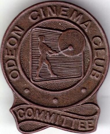 Odeon Cinema Club commitee Badge