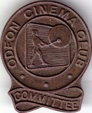Odeon Cinema Club commitee Badge