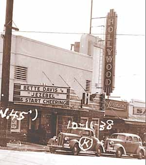 Hollywood Theater in 1938