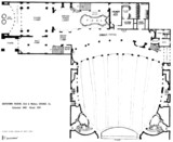 Southtown Theatre, Chicago - Floor Plan