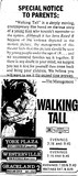 &quot;Walking Tall&quot;