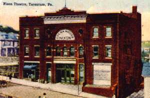 Nixon Opera House (Later Harris Theater), Tarentum PA