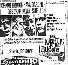 """The Night of the Iguana"""