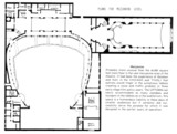 Uptown Theatre, Chicago - Mezzanine Level Floor Plan