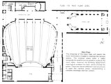 Uptown Theatre, Chicago - Orchestra Level Floor Plan