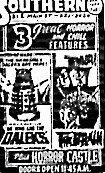 """""""Dr. Who and the Daleks""""/""""The Brain""""/""""Horror Castle<                                                                                                                """"Dr. Who and the Daleks""""/"""" The Brain""""/""""Horror Castle"""""""