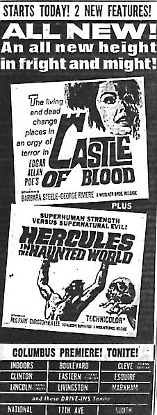"""Castle of Blood""/""Hercules in the Haunted World"""