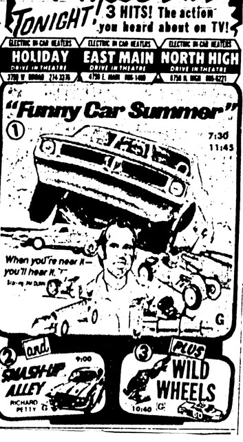 """Funny Car Summer""/""Smash-Up Alley""/""Wild Wheels"""