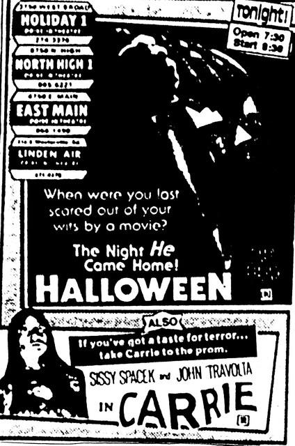 """Halloween""/""Carrie"""