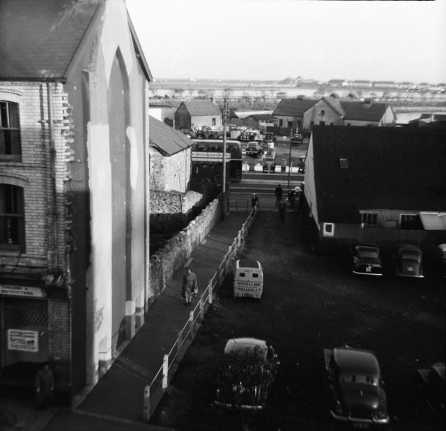 View from Palladium Roof looking South East towards Maes C1955