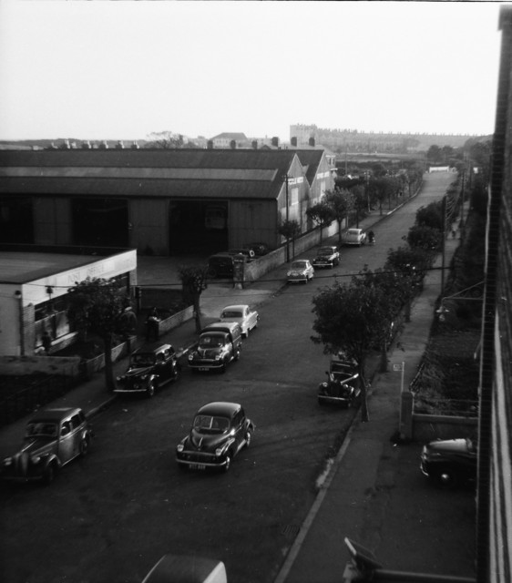 View from Palladium Roof looking South towards South Beach C1955