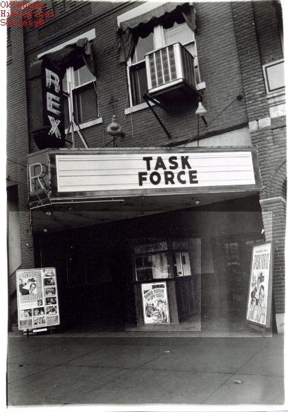 Rex Theater Bartlesville,OK 1949