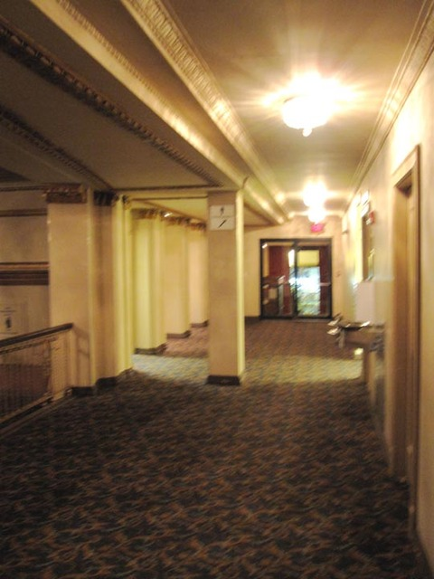 Allen Theatre, Celevaldn, OH - Side Corridor to Ohio Theatre