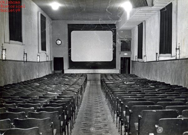 Rex Theater Screen