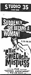 """The Swedish Mistress"""