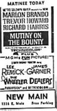 """Mutiny on the Bounty""/""The Wheeler Dealers"""