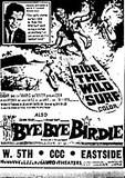 """""""Ride the Wild Surf""""/""""Bye Bye Birdie"""""""
