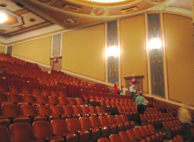 Allen Theatre, Celevaldn, OH - Balcony Sidewall