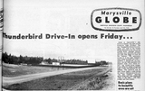 Thunderbird Drive-In opening day