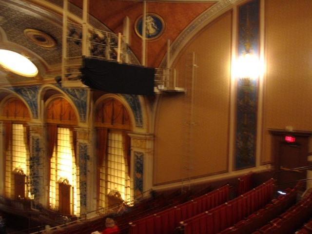 Allen Theatre, Celevaldn, OH - Auditorium Sidewall