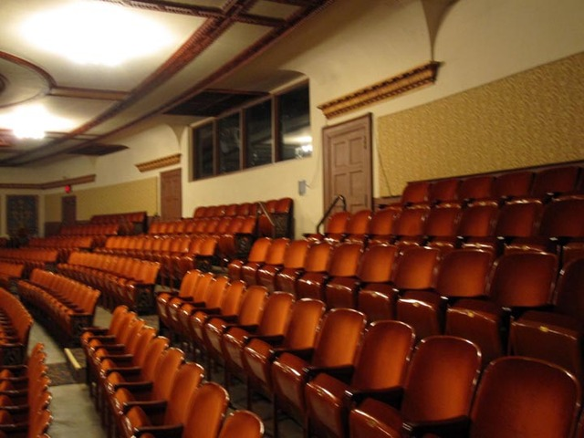 Allen Theatre, Cleveland, OH - Rear of Balcony