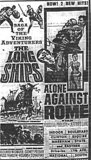 """The Long Ships""/""Alone Against Rome"""