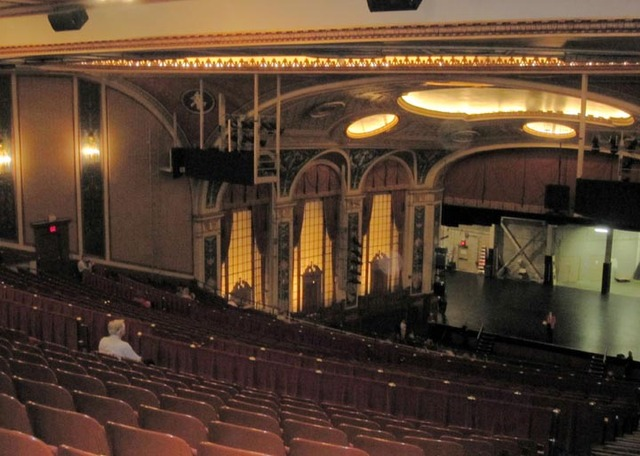 Allen Theatre, Cleveland, OH - Auditorium from Balcony