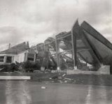 Starlite drive-in screen after tornado