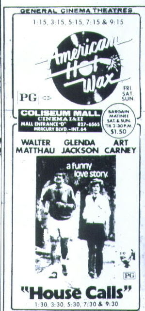 Coliseum Mall Cinema I & II