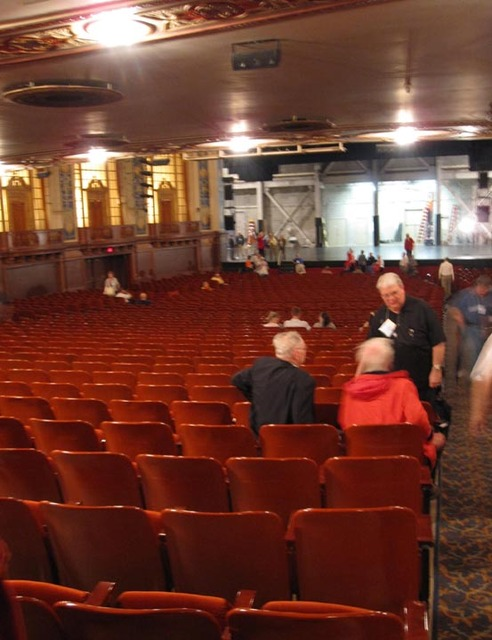 Allen Theatre, Cleveland, OH - Orchestra Level