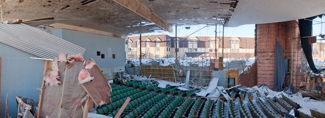 Showcase Cinema Secor Demolition 2011