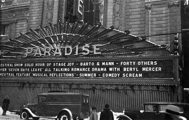 Paradise Theater, Chicago, IL - 1930