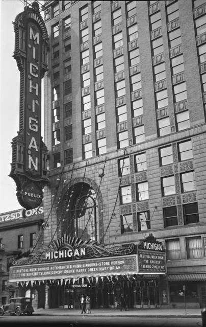 Michigan Theatre, Detroit, MI - 1930