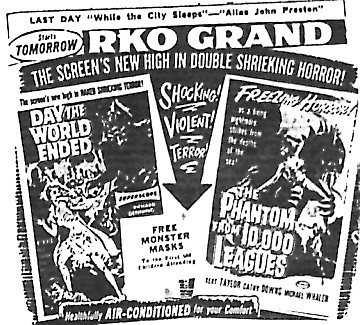 """Day the World Ended""/""The Phantom From 10,000 Leagues"""