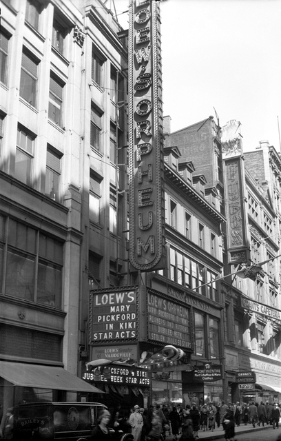 Loew's Orpheum Theatre, Boston, MA - 1931