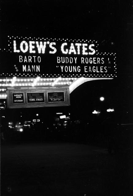 Loew's Gates Theatre, Brooklyn, NY - 1930