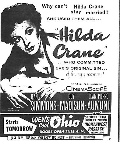 """Hilda Crane""/""Northwest Passage"""