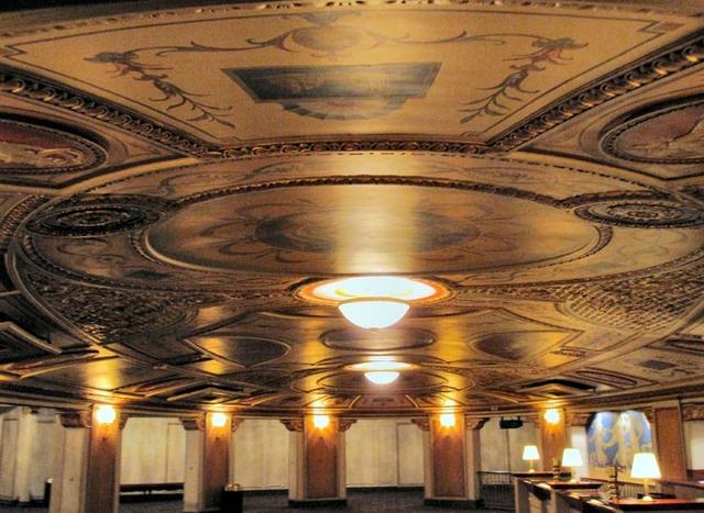 Allen Theatre, Cleveland, OH - Ceiling Details - former inner rotunda