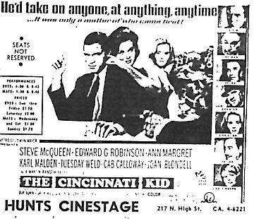 """""""The Cincinnati Kid"""""""