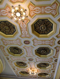 Allen Theatre, Cleveland, OH - Outer Lobby Ceiling Detail